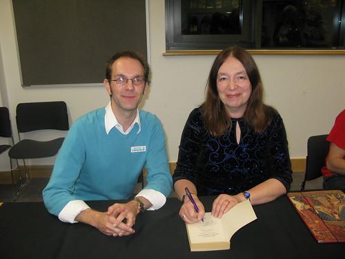 Alison Weir book fan photo