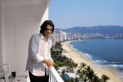 Diego Luna (adam wiseman) Tags: ocean sea man film tourism beach mexico hotel bay coast skyscrapers pacific balcony playa mexican acapulco movies actor guerrero diegoluna ytumamatambien
