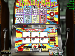 The Big Heist slot game online review