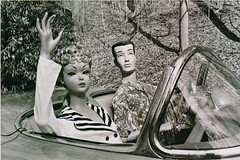 ...Barbie and Ken out for a spin (x-ray delta one) Tags: startrek television illustration vintage magazine ads advertising tv suburban ad suburbia retro nostalgia 1940s 1950s americana beatles 1960s atomic populuxe housewife consumerism worldsfair coldwar thefuture edsullivan britishinvasion popularscience popularmechanics magazineillustration atomicpower
