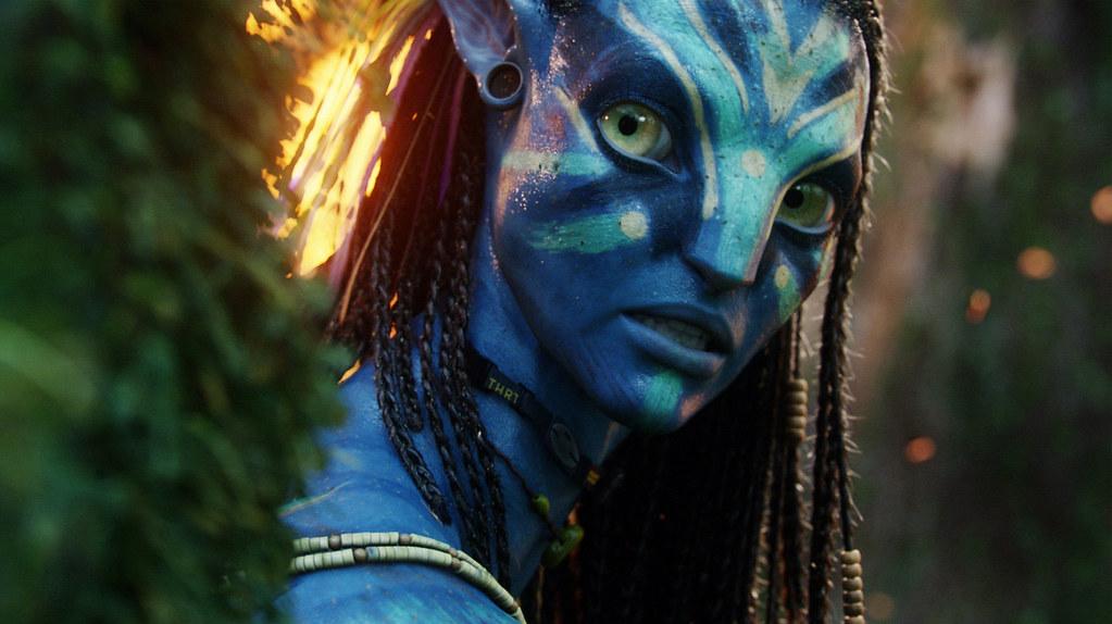 Avatar Neytiri cara pintada