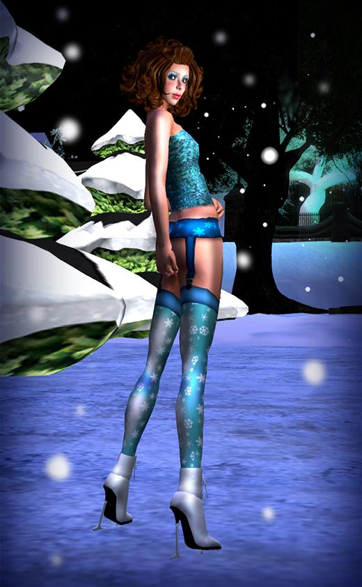 BlueSequinTop_SnowflakeStockings