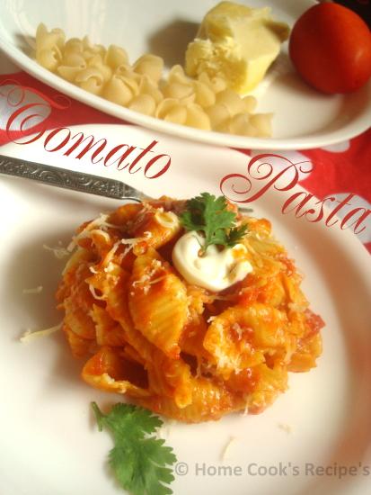 Tomato Pasta Indian Recipe