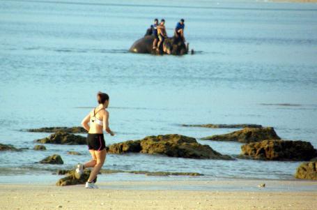 Jak se běhá v Thajsku