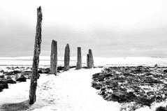 Ring of Brodgar (bm^) Tags: uk travel winter white snow black tourism scotland orkney stenness nikon frost zwartwit unitedkingdom sneeuw ring zwart wit archeology neolithic henge ringofbrogar ringofbrodgar schotland brodgar vorst brogar stennes d90 ringobrodgar blackwhitephotos mywinners orcades saariysqualitypictures nikond90bw mygearandmebronze