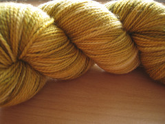 Toasted Orange Over Pistachio-1 (TheGirlCantHelpKnit) Tags: sock yarn sundara handdye