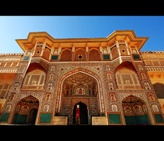 amber fort (lorytravelforever) Tags: woman india treasure jaipur rajasthan amberfort holidayvacanzeurlaub