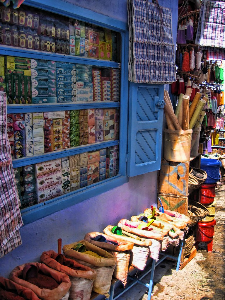 A Souk in Morocco