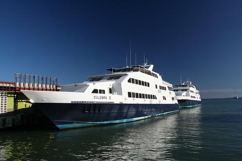 our ferry boat - Culebra II