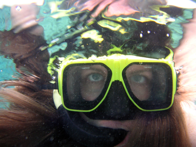 Snorkeling Self-Portrait