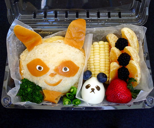 Shifu and Kung Fu Panda Field Trip Bento by sherimiya ♥