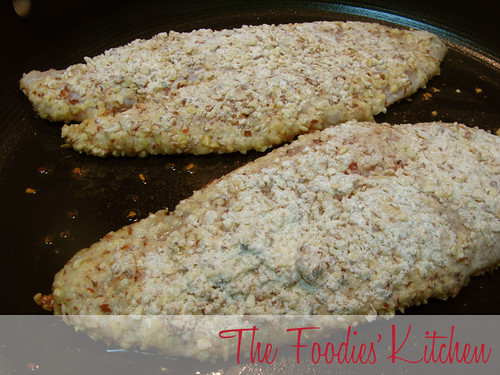 Almond Crusted Fish Fillets