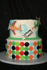 "planes baby shower cake • <a style=""font-size:0.8em;"" href=""http://www.flickr.com/photos/60584691@N02/5829667641/"" target=""_blank"">View on Flickr</a>"
