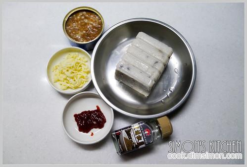 焗烤蘿蔔糕09