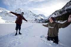 Winter Hiking 101 (Glen Randall Photography) Tags: canada joffee lakes bc britishcolumbia outdoors glacier provincialparks