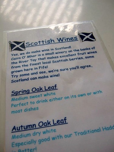 Scottish wine