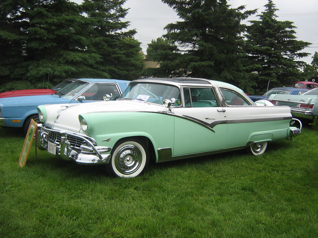1956 Ford Crown Victoria glass-top