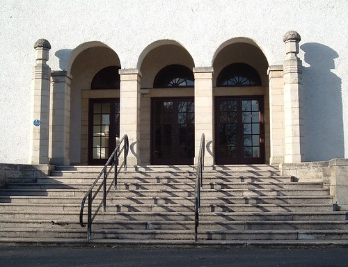 Entrance, Glen Pavilion, Dunfermline