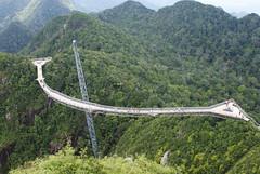 Gunung Machincang pt3 - THE bridge (~ kokstang) Tags: sunset car train traditional cable hanging lama penang langkawi brigde rumah bukit tradisional bendera helang mahsuri