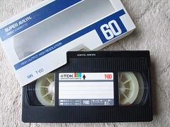 Old videocassette