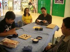 Mike vs JM (michaelgalero) Tags: open baduk go sm gaming players boardgame pga meet association weiqi philippine marikina ogm balasa