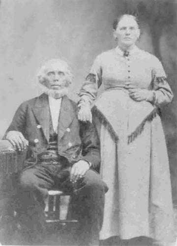 Pieter Oebeles Viersen en Sarah Ann Crandall