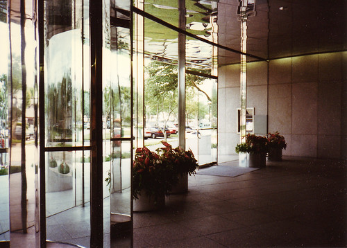 Corporate Building Lobby