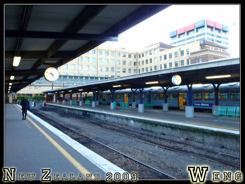 Wellington, Train Station