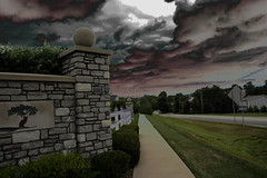 I think I'll stay inside today (ShadowFox205) Tags: storm rain brewing dreary be there therebeastormbrewing kentuckythunderstorms