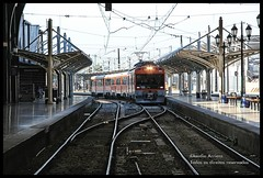 A chegada! (Claudio Arriens) Tags: chile santiago trenes trains hdr canoneosrebelxt estación trens ferrocarril canonef28135mmf3556isusm
