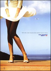 Affiche Air France Jupe