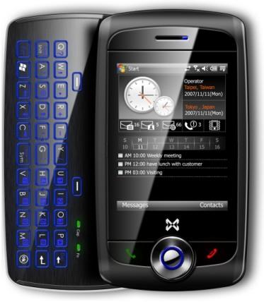 [WM] Mwg Zinc II HSDPA smartphone 概觀與LCD維修拆解