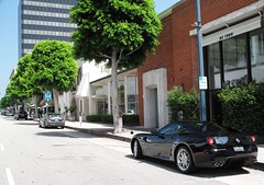 Ferrari 599 GTB Fiorano (C. Arnoldy) Tags: california italy black italian ferrari beverlyhills nero gtb 599 fiorano ferrari599gtbfiorano ferrari599 ferrari599gtb nerodaytona