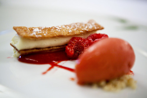 Strawberry Rhubarb Napoleon