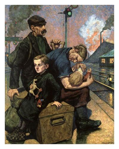 009-La emigracion 1924-Hans Baluschek