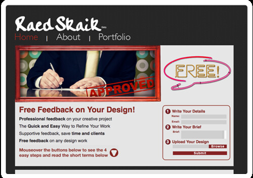 Raed Skaik  Free Feedback on Your Design!
