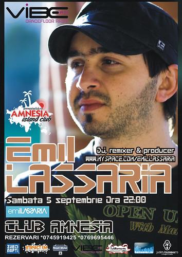 5 Septembrie 2009 » DJ Emil Lassaria