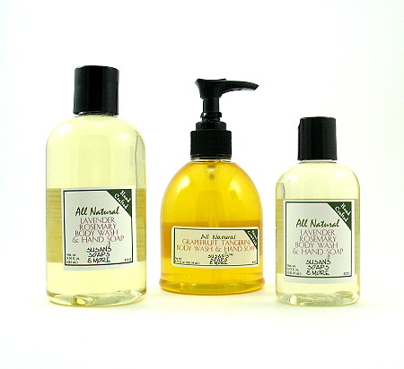 Natural Liquid Soap - Our answer to antibacterial.
