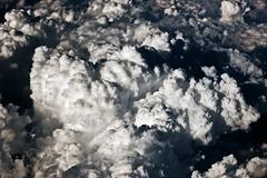 Mer de nuages sur le Mont Blanc (Vin on the move) Tags: white black alps clouds nikond70 air nuages fromplane the4elements vin60 alpsfromplane