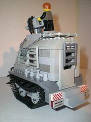 Urban Assault Vehicle (rabidnovaracer) Tags: car fire tank lego zombie lugnuts zombiefest postapoc
