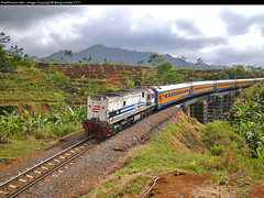 CC 20172 Hauled K.A 150 Pasundan Crossing Trowek Bridge ready enter Cirahayu (Bang Ricki VanDirjo Sepur44) Tags: bridge crossing 150 cc ready enter ka hauled 20172 pasundan trowek cirahayu