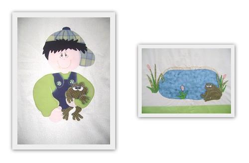 Detalhes de aplicações com pinturas