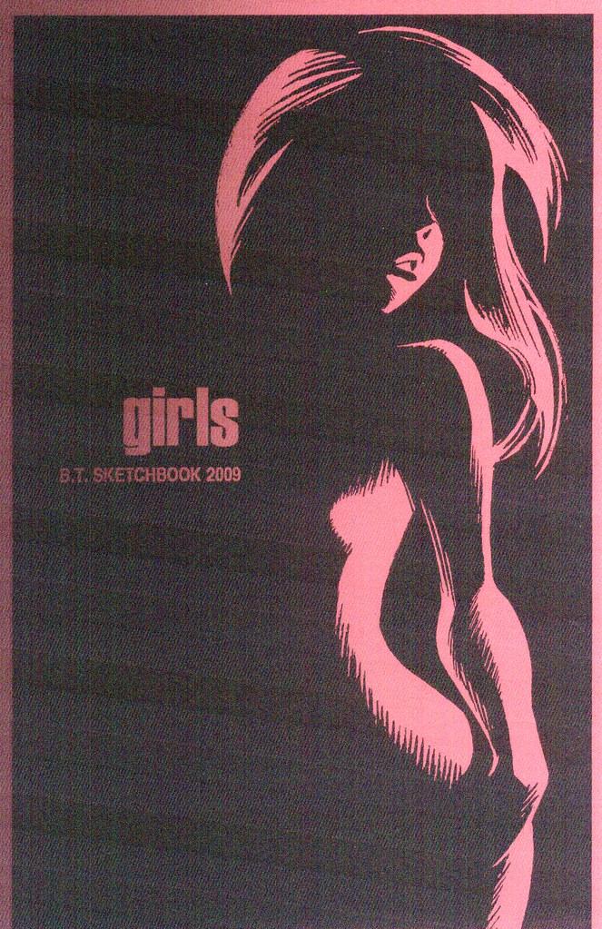 Girls: Bruce Timm Sketchbook, 2009)