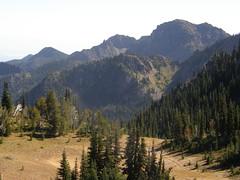 Final views from Marmot Pass.