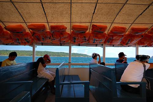 Samal Ferry Boat Passengers