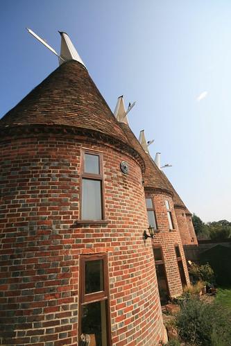 Oast houses, Ickham, Kent