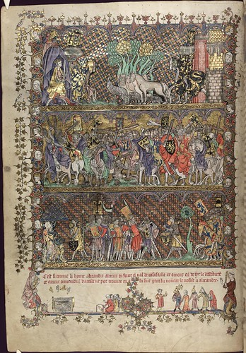 The Romance of Alexander 21v MS. Bodl. 264