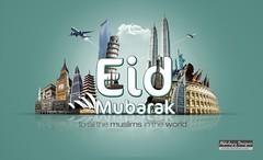 Eid Mubarak | to all the muslims in the world (<\| AbdulAziz Photo |\>) Tags: world newyork paris happy design amazing flickr shot islam towers eid egypt mosque holy saudi arabia muslims ramadan riyadh  mubarak  grat  abdulaziz           aldamkh