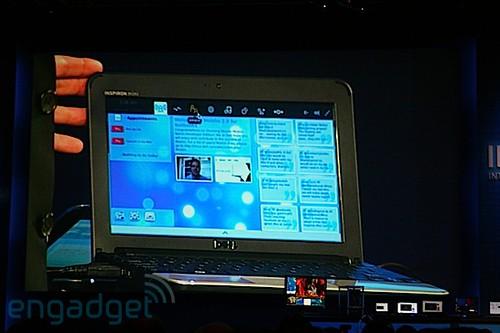 Dell Inspiron Mini 10v, Ubuntu Moblin Remix Developer Edition