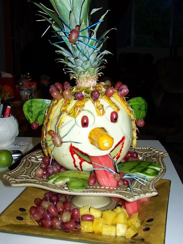 Fall Party Hallowen edabel Art Fruit 4